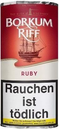 Borkum Riff Ruby (Cherry) Tabak 50g Pouch (Pfeifentabak)
