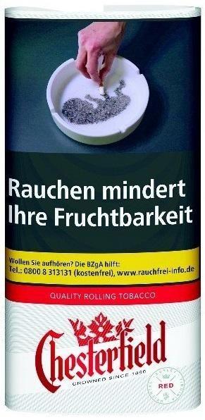 Chesterfield Red Tabak 30g Pouch (Drehtabak / Feinschnitt)