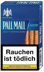 Pall Mall XL Blau Filtercigarillo (17 Zigarillos)