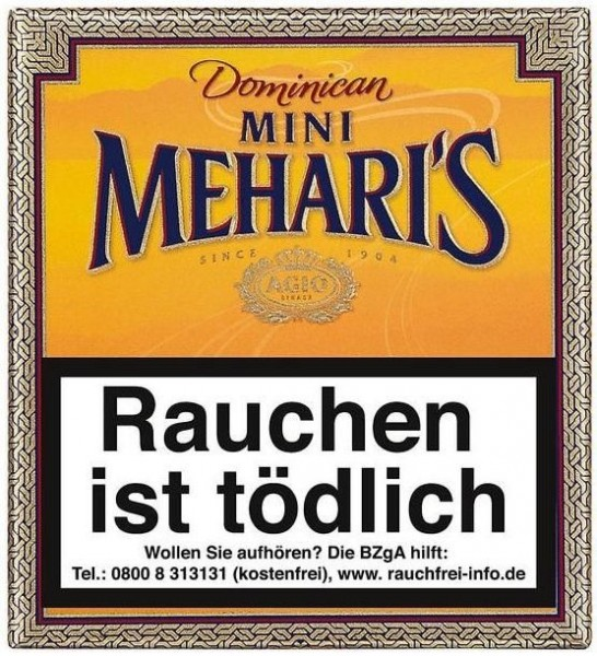 Meharis Mini Dominican (20 Zigarillos)