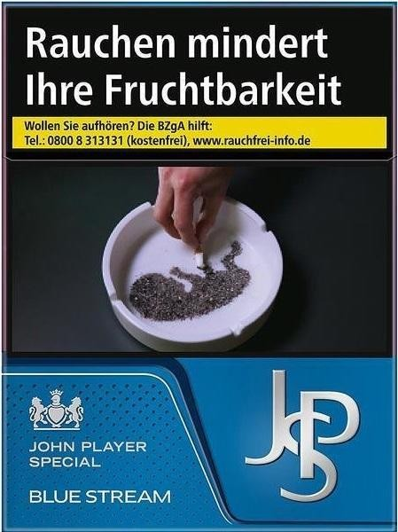 John Player JPS Blue Stream (Stange / 8x22 Zigaretten)
