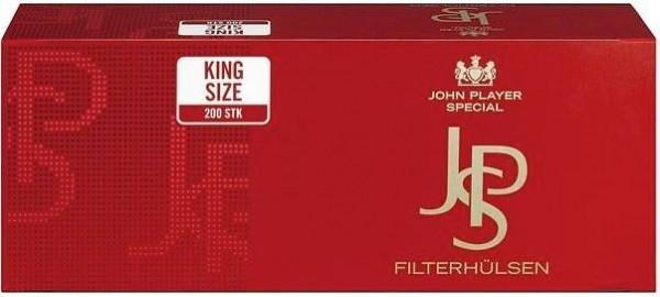 JPS Red Hülsen Filterhülsen Zigarettenhülsen Stopfhülsen 200 Stück
