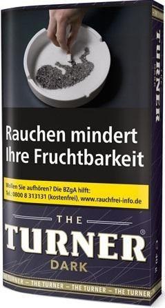 5x The Turner Dark (Zware) Tabak 40g Pouch (Drehtabak / Feinschnitt)
