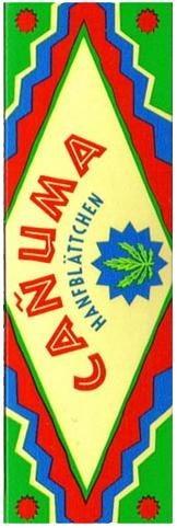 Canuma Hanfpapier Drehpapier/ Blättchen/ Zigarettenpapier 60 Blatt