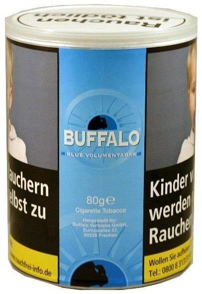 Buffalo Fine Vol. Tabak 80g Dose (Stopftabak / Volumentabak)
