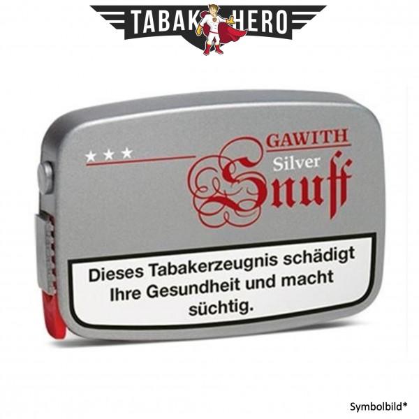 10x Gawith Silver Snuff (Cola) Schnupftabak 10g