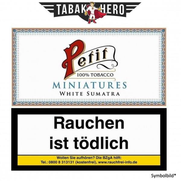 Nobel Petit Miniat. White fine (10 Zigarillos)