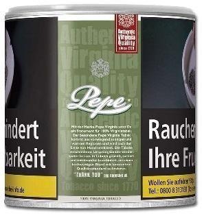 Pepe Rich Green Tabak 80g Dose (Drehtabak / Feinschnitt)