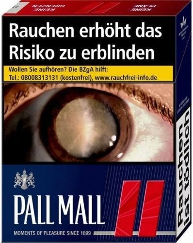 Pall Mall Red (Stange / 8x26 Zigaretten)