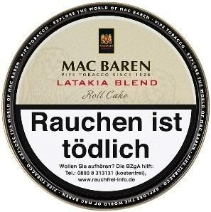 Mac Baren Latakia Blend Tabak 100g Dose (Pfeifentabak)