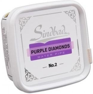 Sindbad Purple Diamonds No2 (Traube) Shisha - Tabak 200g Dose