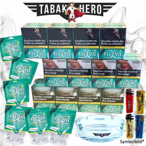 24 x Elixyr Zigaretten XL + 600 Elixyr Tips (Energy) Menthol-Filtertips, Zubehör