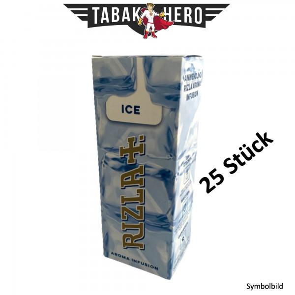 Rizla Aromakarten Ice (Pfefferminz) - 25 Stück Aroma Karten (wie HIPZZ)