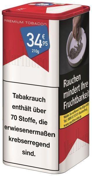 Marlboro Red Premium Tabak 205g Dose (Stopftabak / Volumentabak)