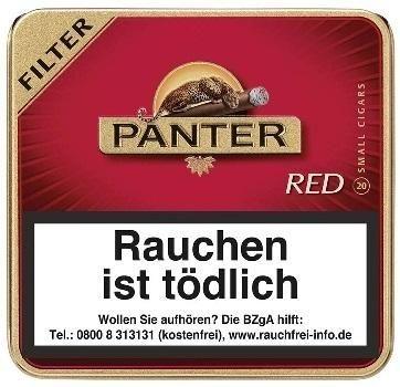 Panter Red Filter (Vanilla) (10 x 20 Zigarillos)