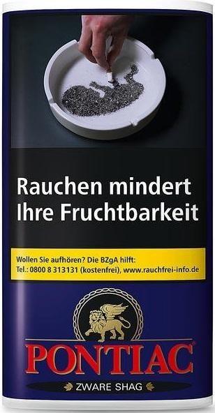 Pontiac Zware Shag Tabak 30g Pouch (Drehtabak / Feinschnitt)