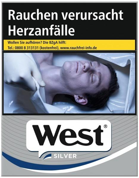 West Silver Zigaretten (38 Stück)