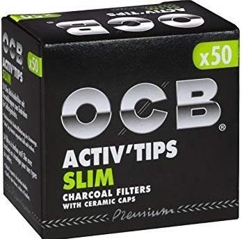 10 x 50 Stück OCB Activ Filter Slim