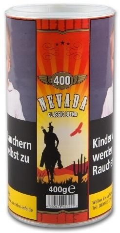 Nevada Dose Tabak 400g Dose (Drehtabak / Feinschnitt)
