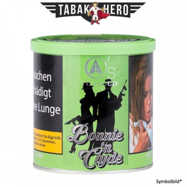 O's Tobacco Green - Bonnie'n Clyde 200g Shisha Tabak