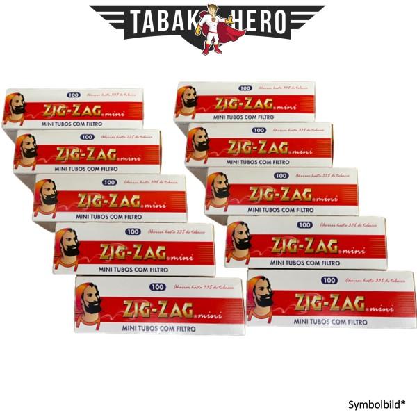 10x Zig Zag 100 Mini Filterhülsen