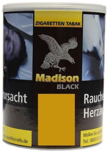 Madison Black (Zware) Tabak 120g Dose (Drehtabak / Feinschnitt)