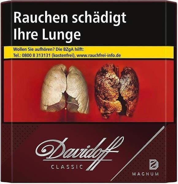 Davidoff Magnum (Stange / 10x20 Zigaretten)