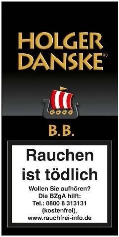 Holger Danske B. B. (Black & Bourbon) Tabak 40g Pouch (Pfeifentabak)