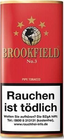Brookfield No.3 (Cherry) Tabak 50g Pouch (Pfeifentabak)