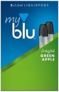 myblu Pod Green Apple (0mg)