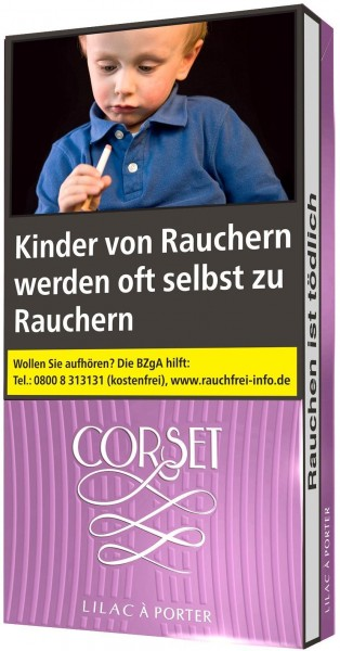 Corset Coral Slim (Stange / 10x20 Zigaretten) - vormals Corset Lilac