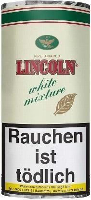 5x Lincoln White Mixture (Mellow) Tabak 50g Pouch (Pfeifentabak)