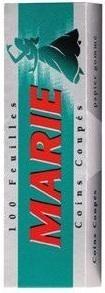 5 x 100 Blatt Marie Papier Drehpapier/ Blättchen/ Zigarettenpapier