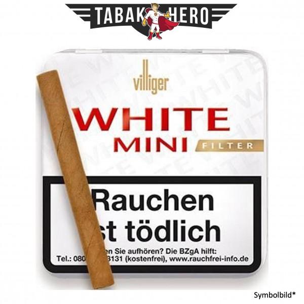 Villiger White Mini Filt. Sumatra (20 Zigarillos)