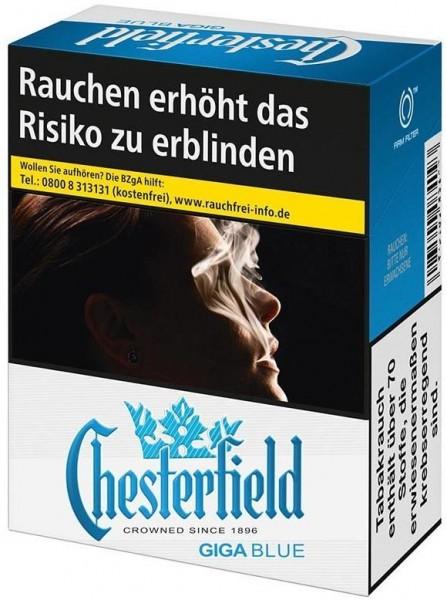 Chesterfield Blue Zigaretten (33 Stück)
