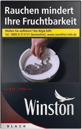 Winston Black Zigaretten (23 Stück)