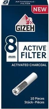 5 x 10 Stück Gizeh Active Filter 8mm