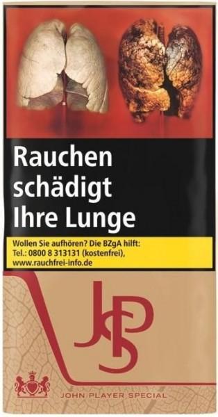 10x JPS Just Red Tabak 30g Pouch (Drehtabak / Feinschnitt)