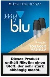 myblu Pod TobaccoVanilla (9mg)
