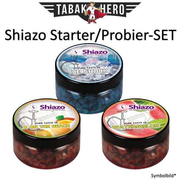 Shiazo Dampfsteine Starter-(Probier)SET