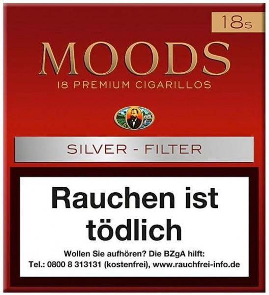 Dannemann Moods Silver 18 (20 Zigarillos)