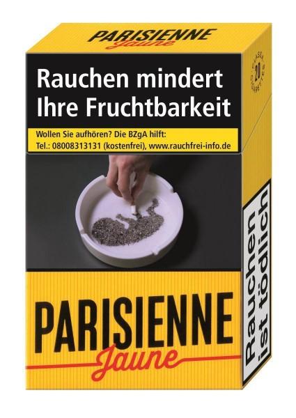 Parisienne Jaune (Stange / 10x20 Zigaretten)
