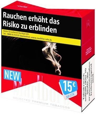 Marlboro Red 5XL Zigaretten (Stange / 6x47 Zigaretten)