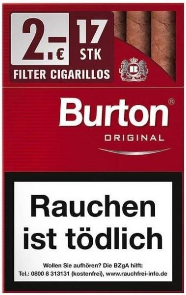 Burton Original Cigarillo L (10 x 17 Zigarillos)