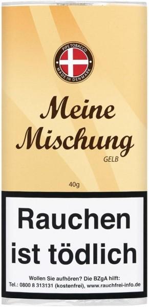 Meine Mischung Gelb (Sweet Vanilla) Tabak 40g Pouch (Pfeifentabak)