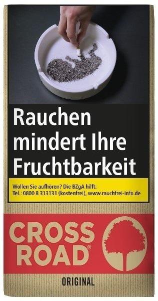 Crossroad Original Taste Tabak 30g Pouch (Drehtabak / Feinschnitt)