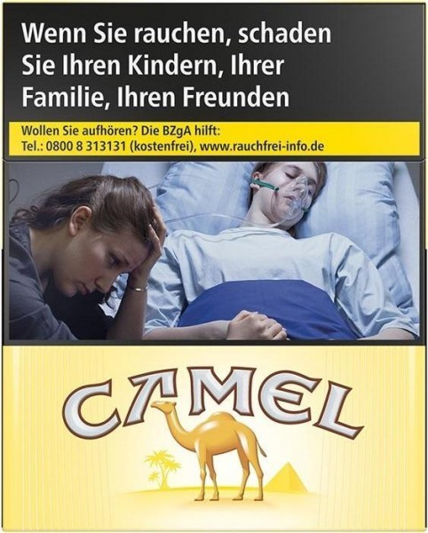 Camel Yellow BP 6XL (Stange / 4x55 Zigaretten)