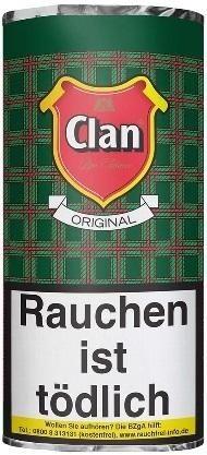 5x Clan Original (Aromatic) Tabak 50g Pouch (Pfeifentabak)