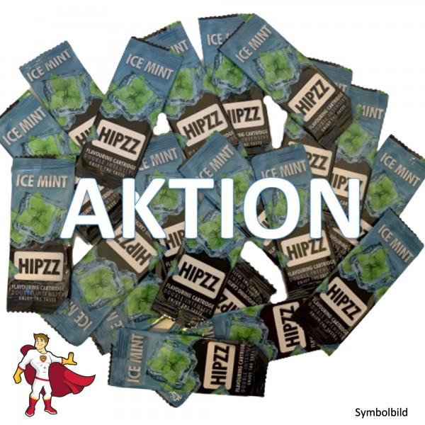 AKTION: HIPZZ Aromakarten Ice Mint (Pfefferminz) - Aroma Karten (wie Rizla)