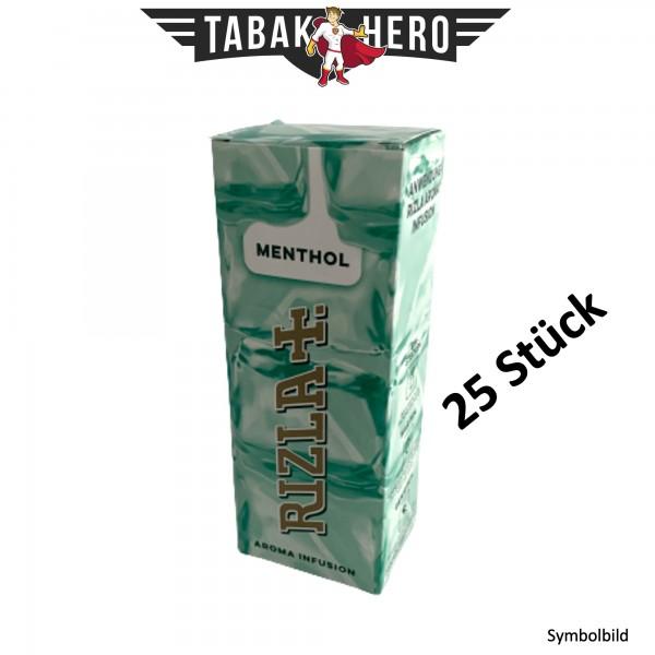 Rizla Aromakarten Menthol - 25 Stück Set Aroma Karten (wie HIPZZ)